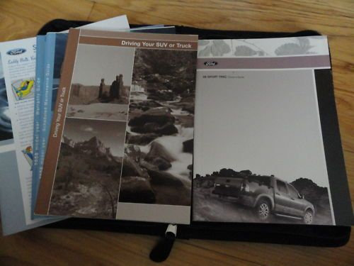 2008 Ford Sport Trac Owners Manual