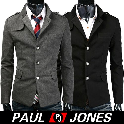PJ 2012 BRAND New Mens Stylish Slim Fit Jackets Coat Trendy Jacket XS